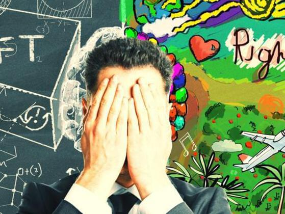 Are you more right – brained or left – brained?