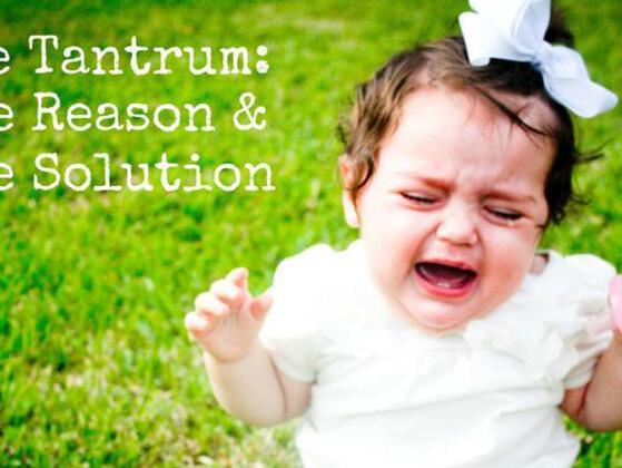Have you ever thrown a tantrum past age nine?