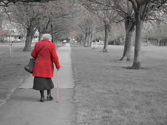 If you are about to enter a store but get stuck behind an elderly person walking quite slow, do you pass them?