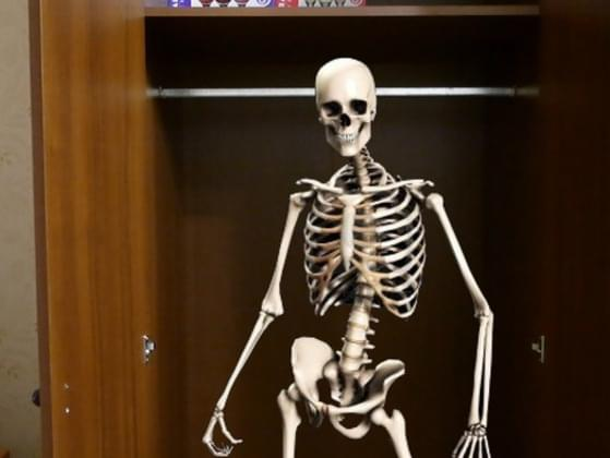 Are there skeletons in your closet?