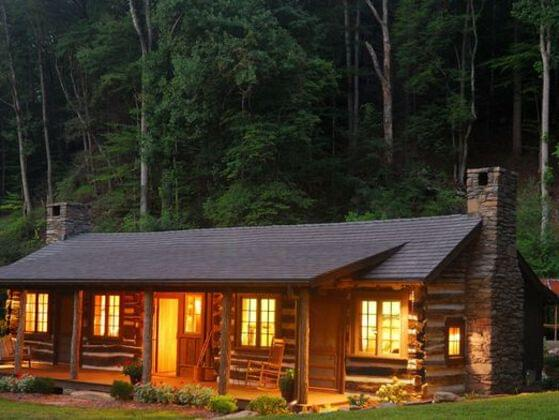 You're spending the weekend at a cabin in the woods, do you