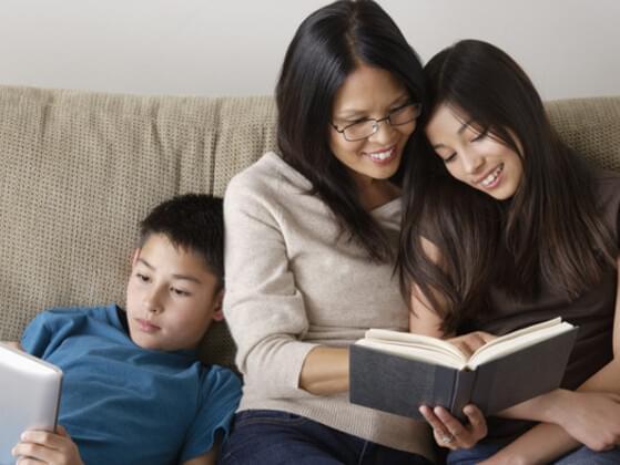 When you read an exciting book, do you