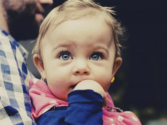 How do you feel when you see an infant or small child?