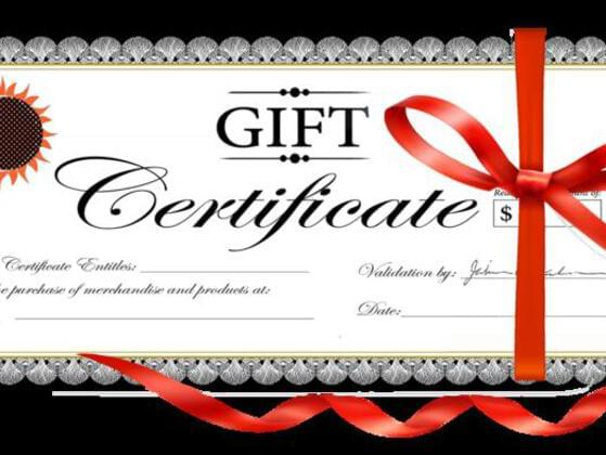 As a birthday gift you receive a gift certificate that can be used for anything. What do you do?