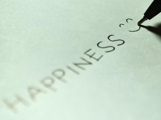Choose the word that best describes what happiness means to you.