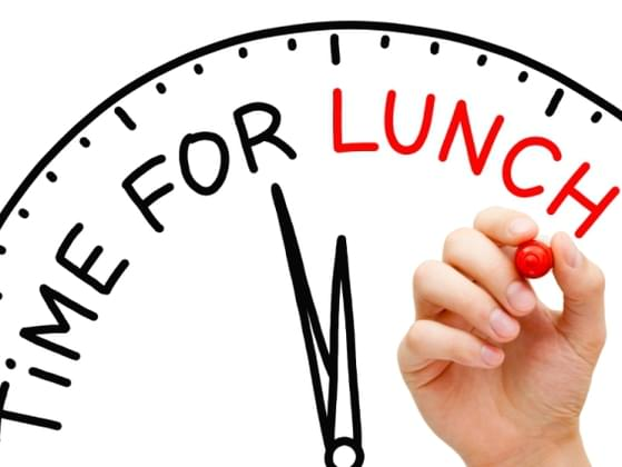 Your favorite activity for lunch break?