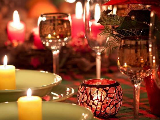 Candlelight dinner or a movie date?