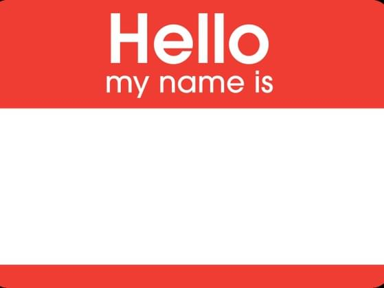 Do you use a fake name, initials, or your middle name in place of your last name?