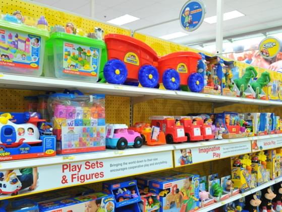 Do you ever go into a toy store?