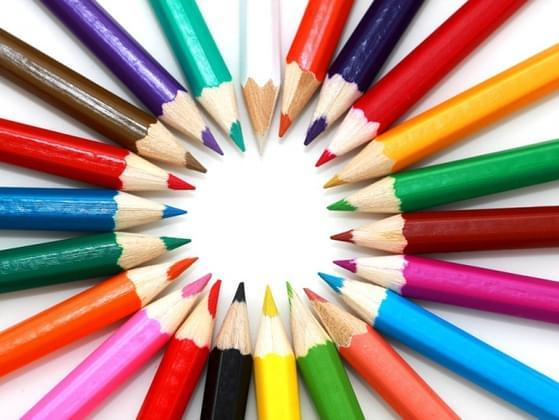 Pick a color of ink to sign your name in.