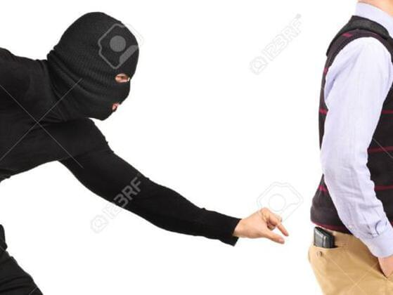 If someone tried to steal from you, what would you do?
