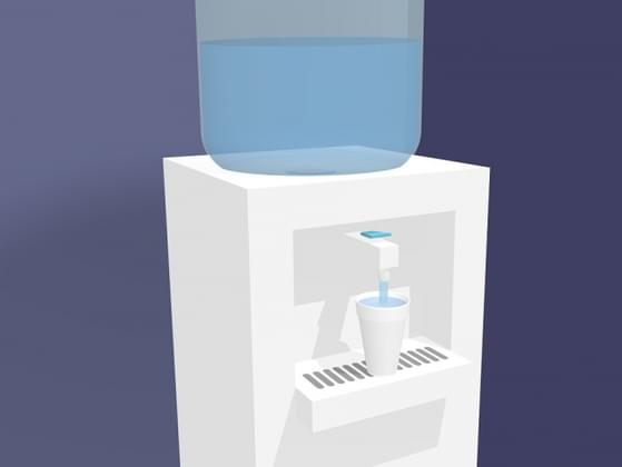 Do you hang around the water cooler at work?