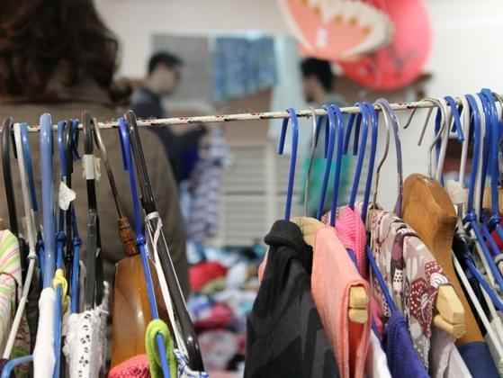 Have you ever bought clothing from a thrift shop?