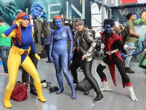 Have you ever been to a comic book convention?