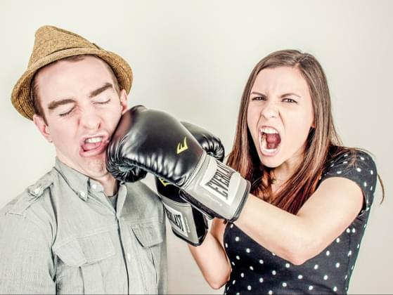 How do you resolve an issue that arises between you and a co-worker?
