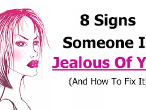 Do you THINK people are jealous of you??