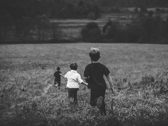 Did your own children get along as kids?