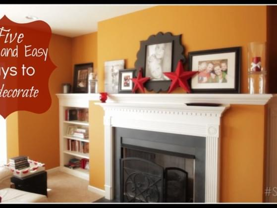 When is the last time any part of your home was redecorated?