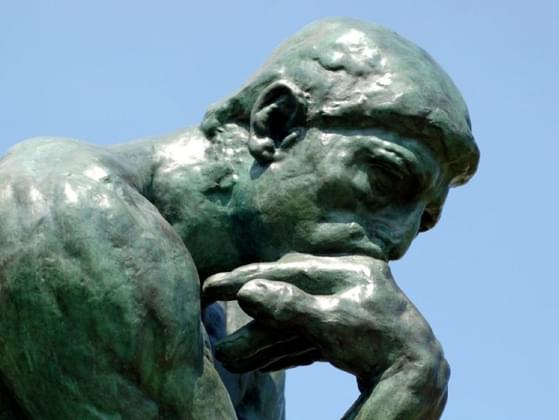 On a scale of 1-10, with 10 being the best, how good are your rational and logical thinking skills?