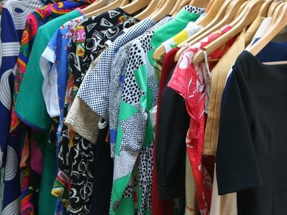 How many items of clothing are on the floor of your closet?
