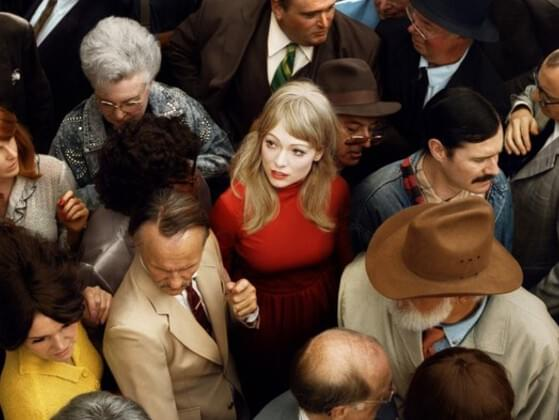 How do you feel when you're in a crowd?