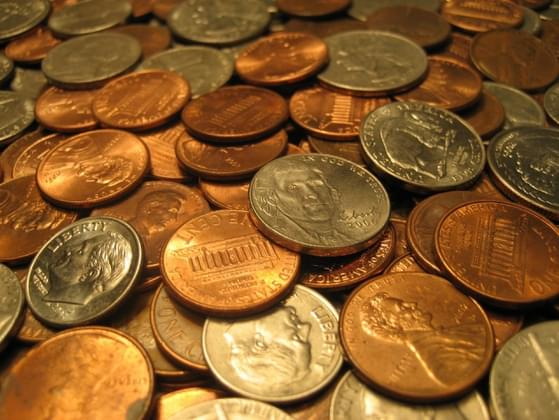 When was the last time you paid for something with spare change?