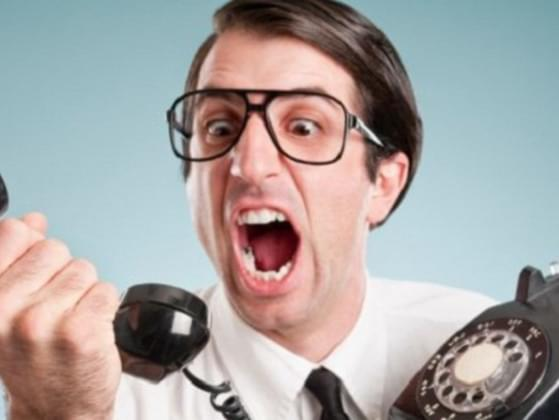 Your phone rings, you answer it. It's a telemarketer again, you?