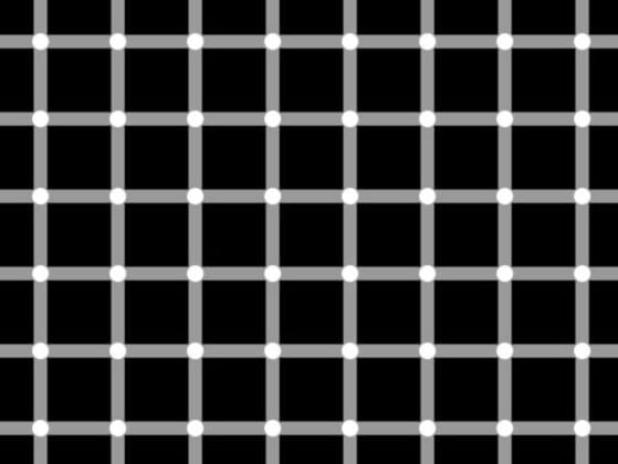 Can you name the color of the dots shown in this image?