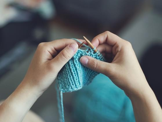 Do you know how to knit or sew?