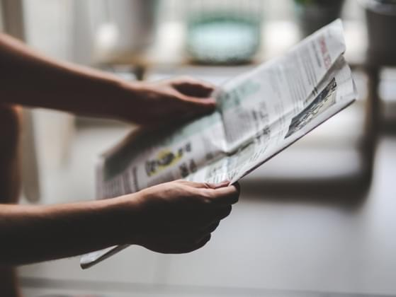 Which section of the newspaper do you read first?