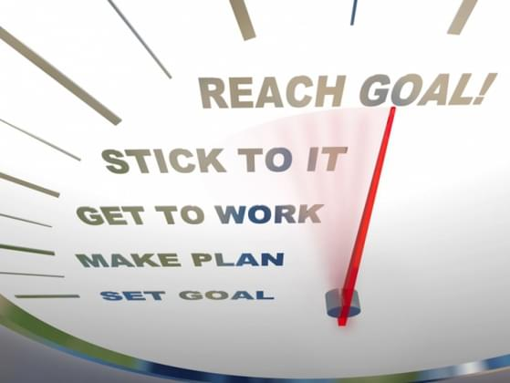 Are you currently working towards a personal or professional goal?