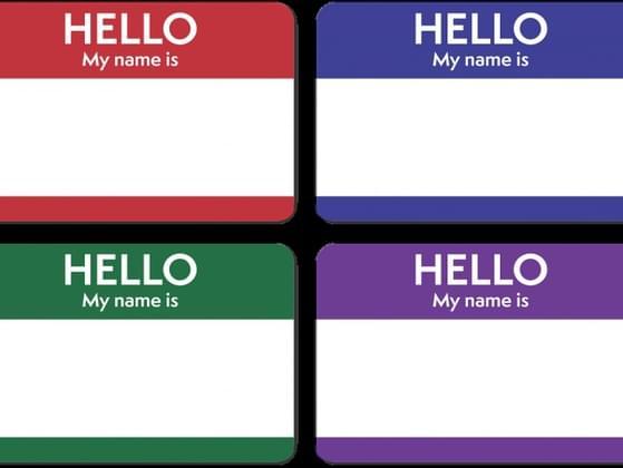 Pick a name.