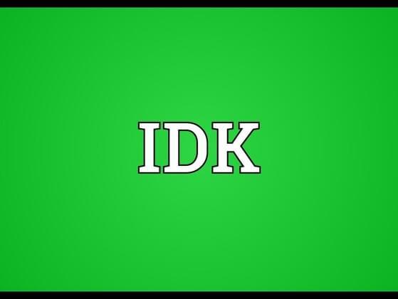 Expand IDK