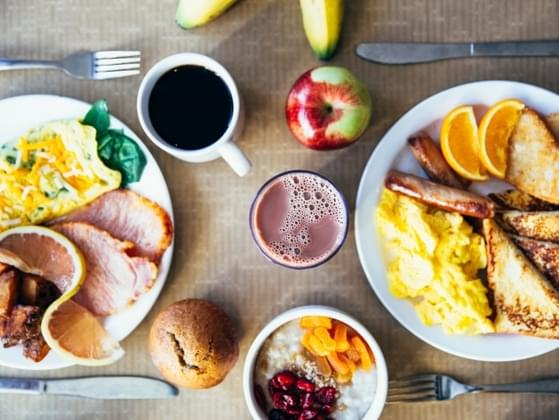 What did you eat for Breakfast today?