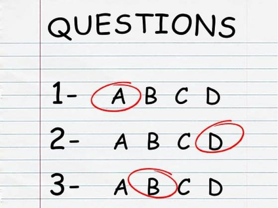 Which types of tests did you do the best on?