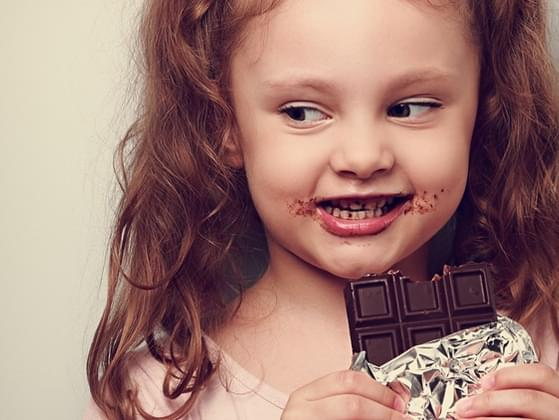 Are you kids addicted to chocolate?