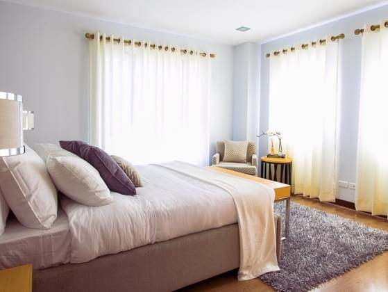 What color would your perfect bedroom be painted?