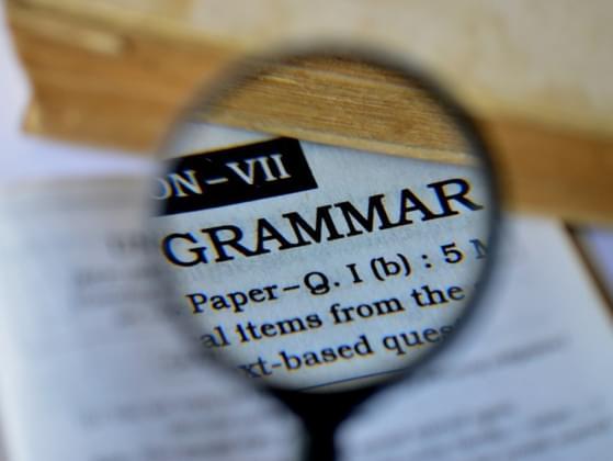 Good grammar is ___________.