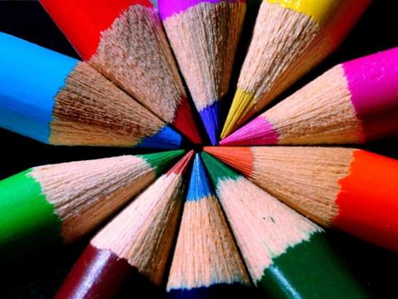 Close your eyes and picture a color. What color do you see?