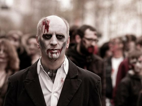 The zombie apocalypse is happening. What are you doing about it?