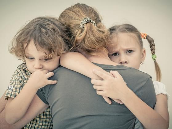 how do you manage the pressure when kids are on fight?