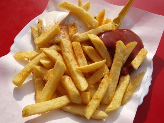 When you eat fries, where do you put your ketchup?