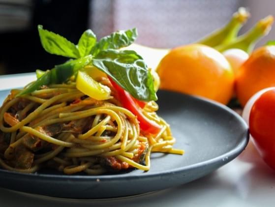 When you eat spaghetti, do you cut it up?