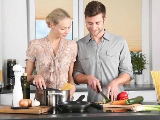 Who does all of the cooking in your house?