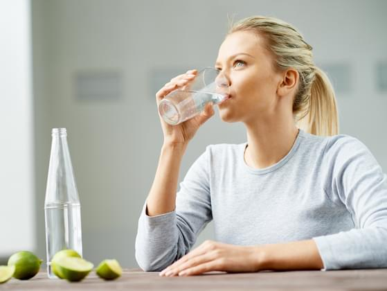 How many glasses of water do you drink daily?