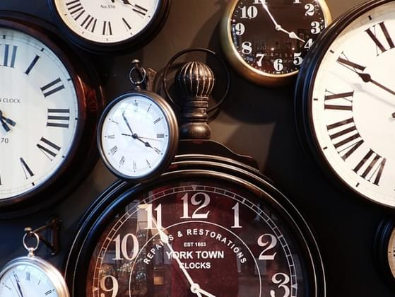 Do you have a problem being on time?