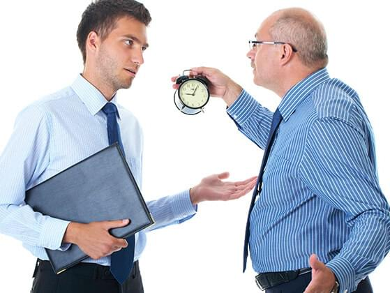 Do you find this joke funny? A guy shows up late for work. The boss yells