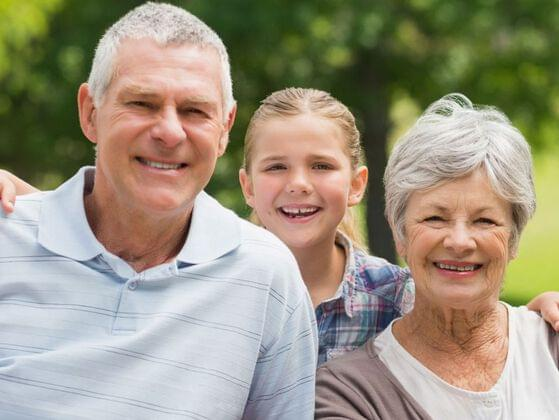 Do you spend a happy time with your grandparents?