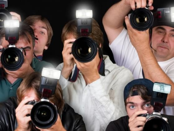 How will you deal with the paparazzi?