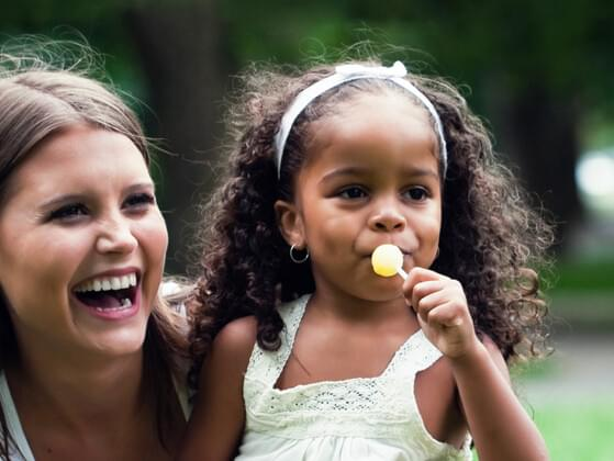Do you spend good time with your sister's children?